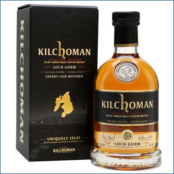 Kilchoman Loch Gorm 2009  Sherry Cask  Bottled 2017 70cl 46%