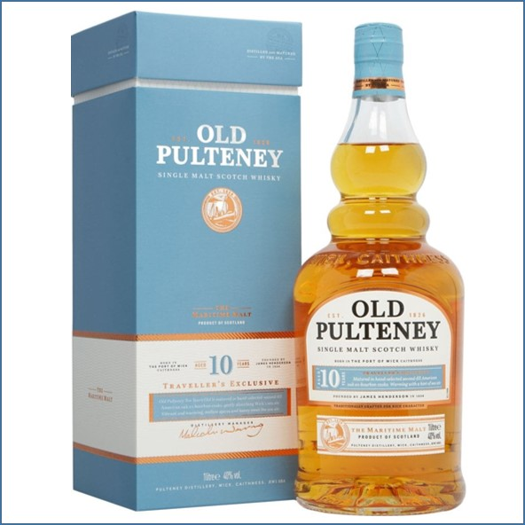 Old Pulteney 10 Year Old 100cl 40%