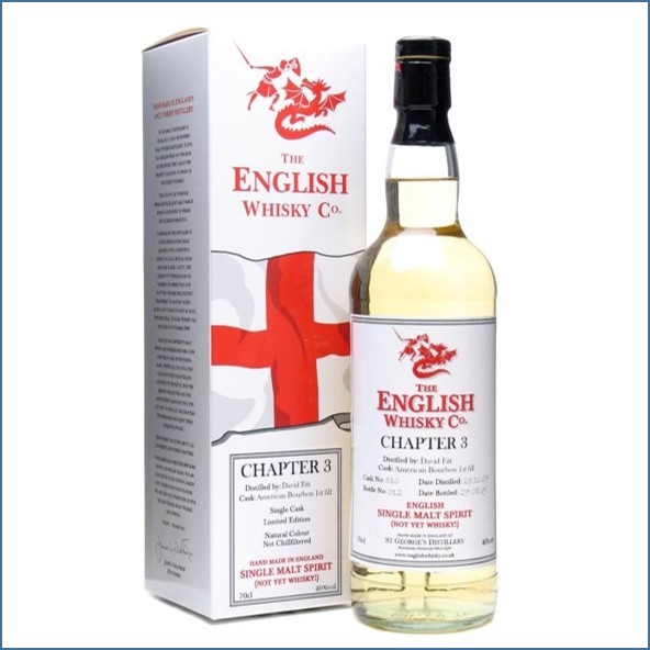 English Whisky Co. Chapter 3  70cl 46%