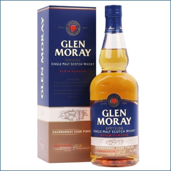 Glen Moray Classic Chardonnay Cask Finish 70cl 40%