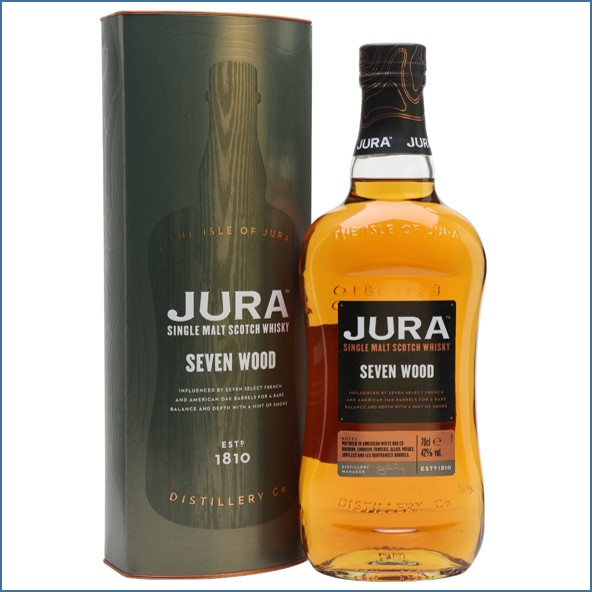 Jura Seven Wood Island Single Malt Scotch Whisky 70cl 42%