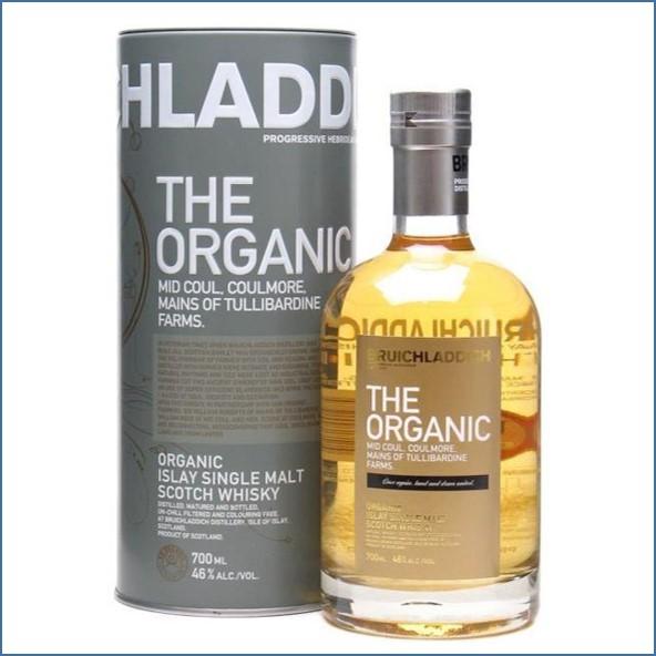 布萊迪收購 Bruichladdich Organic Multi Vintage 2010 70cl 46%