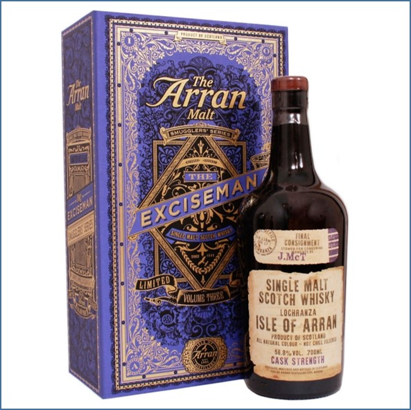 Arran Smugglers' Series Volume 3  The Exciseman70cl 56.8%