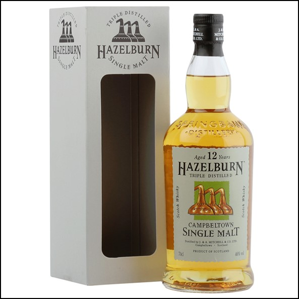 Hazelburn 12 Year Old 2010 Release Campbeltown Single Malt Scotch Whisky 70cl 46%