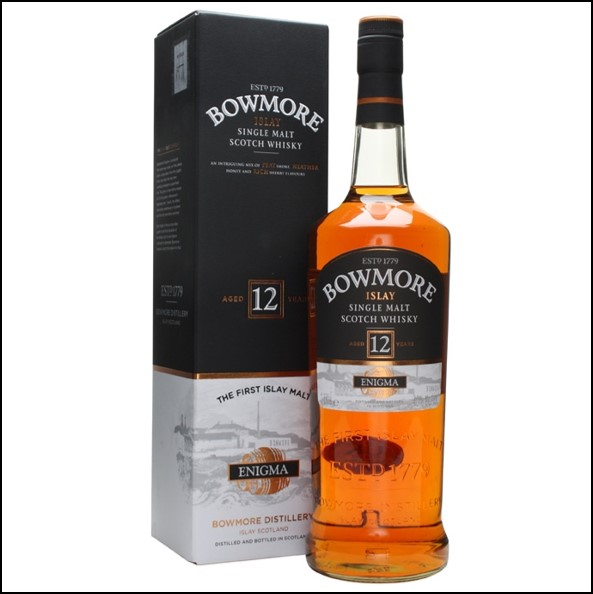 Bowmore 12 Year Old Enigma  100cl 40%