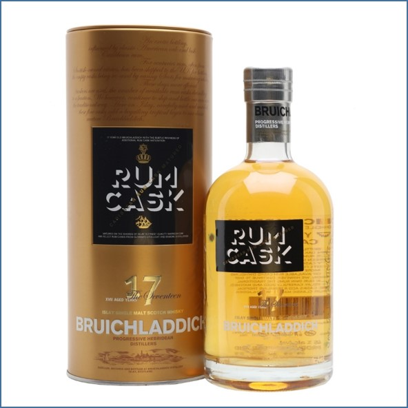 Bruichladdich 17 Year Old Rum Cask Finish 70cl 46%