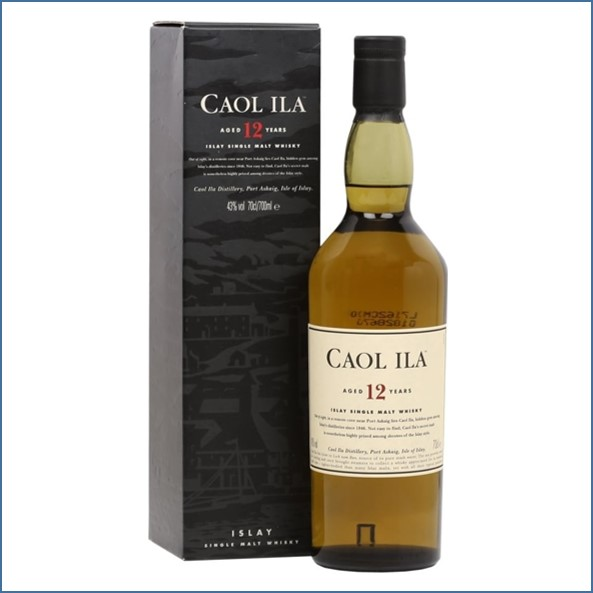 Caol Ila 12 Year Old  Old Bottling 70cl 43%