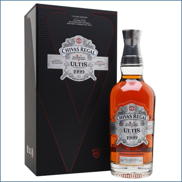 Chivas Regal Ultis 1999 Victory Edition Blended Malt Scotch Whisky 70cl 40%