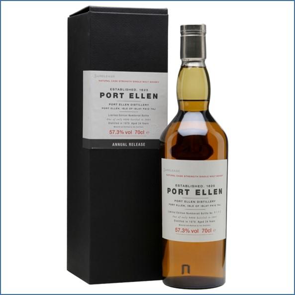 Port Ellen 1979  24 Year Old  3th Release 2003 70cl 57.3%