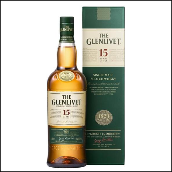 GLENLIVET 15 YEAR OLD 70cl 40%