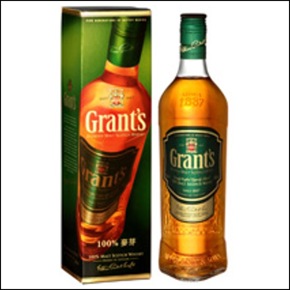 Grant's 100% Malt Scotch Whisky