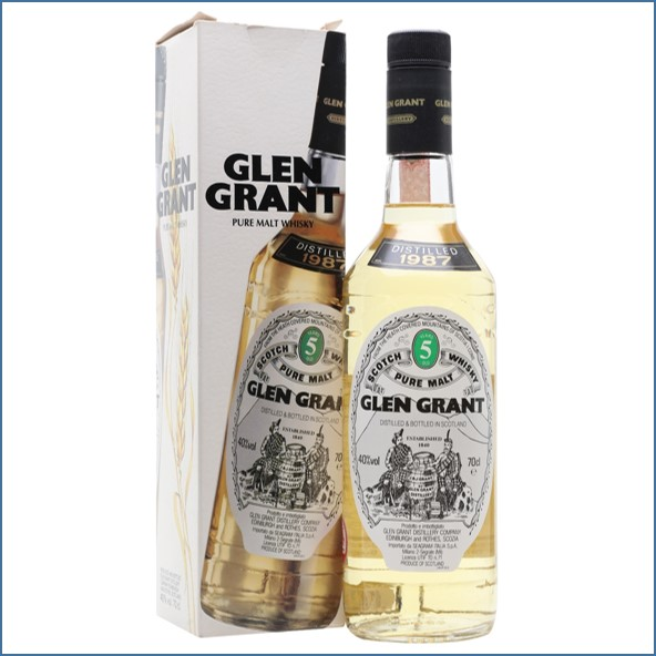 Glen Grant 1987 5 Year Old Speyside Single Malt Scotch Whisky 70cl 40%