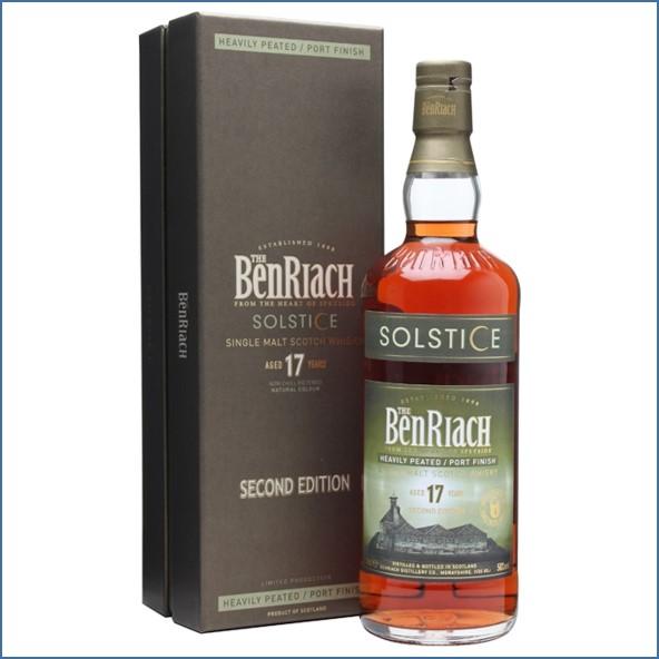Benriach 17 Year Old Solstice 2 Peated Port Finish 70cl 50% 班瑞克17年 冬至重煙燻波特換桶
