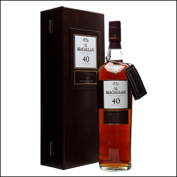 Macallan 40 Year Old Sherry Cask 70cl 43%