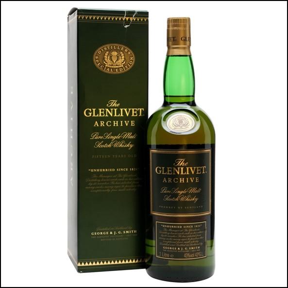GLENLIVET 15 YEAR OLD  ARCHIVE Bottled 1990s 100cl 43%