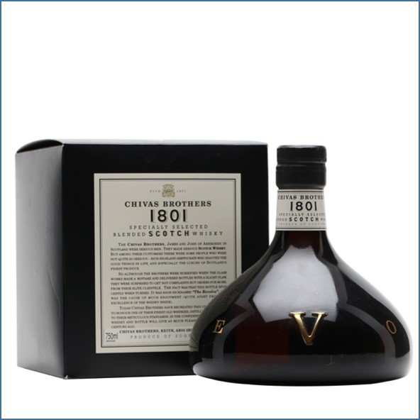 Chivas Revolve 1801 Blended Scotch Whisky 75cl 50%
