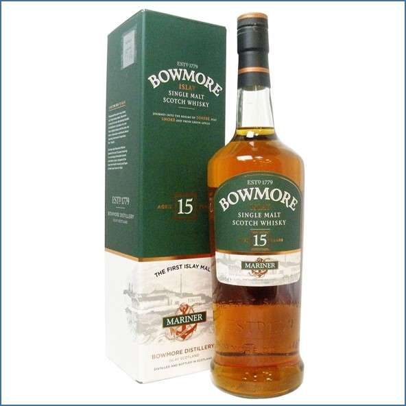 Bowmore 15 Year Old Mariner  70cl 43%