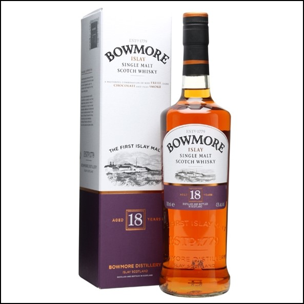 Bowmore 18 Year Old 70cl 43%