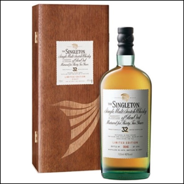 The Singleton of Glen Ord 32 Years Old Distilled 1975 70cl 40% 蘇格登32年收購Glen Ord