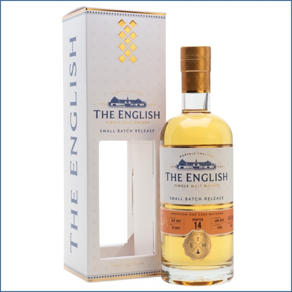 The English Small Batch Chapter 14 Unpeated 2011 Bot.2017 70cl 46%
