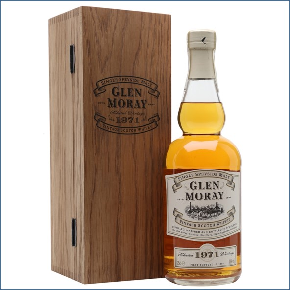 Glen Moray 28 Year Old 1971 75cl 43%