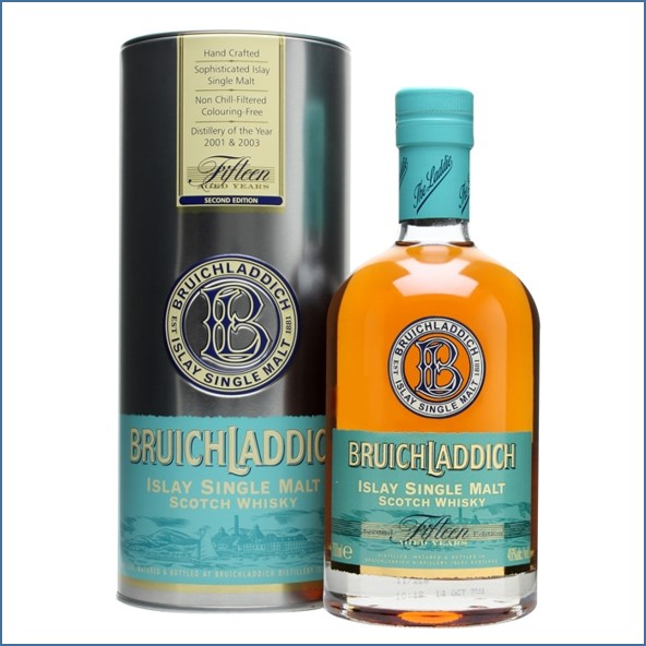Bruichladdich 15 Year Old 2nd Edition 70cl 46%