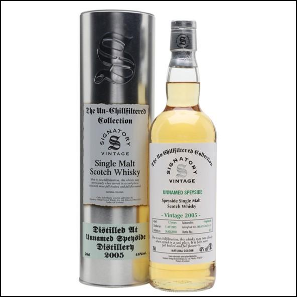 Macallan 2005 12 Year Old 2018 Speyside Single Malt Scotch Whisky Signatory 70cl 46%