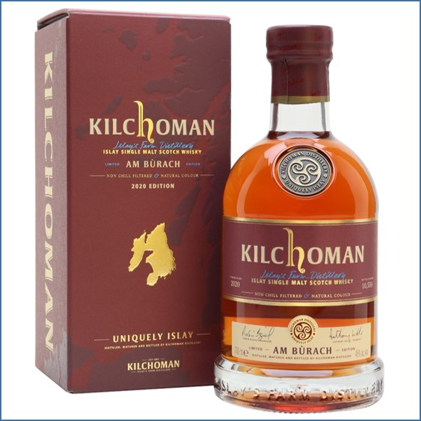 Kilchoman Am Burach 2020 9 Year Old Release 70cl 46%