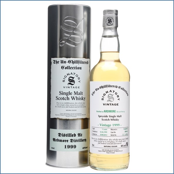 Ardmore 13 Year Old 1999 Cask #800164 Signatory 70cl 46%