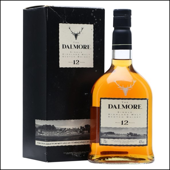 DALMORE 12 YEAR OLD 1990s Sherrywood 70cl 40%  大摩12年威士忌收購