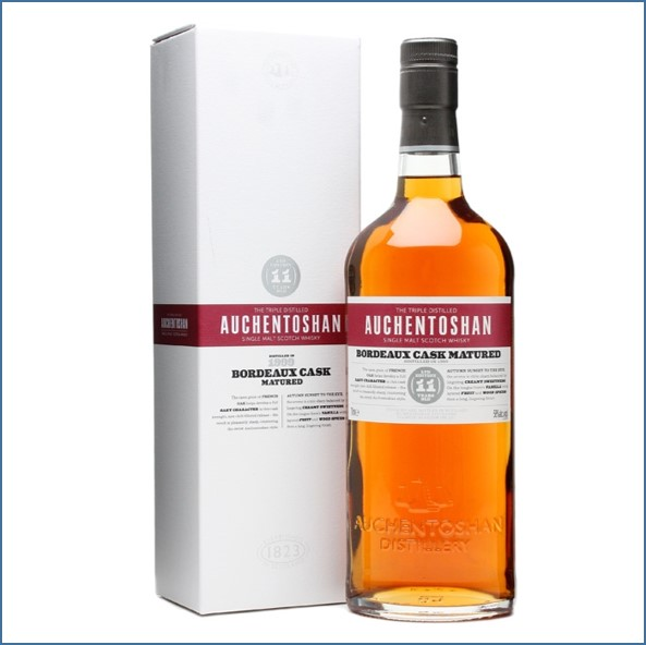 Auchentoshan 11 Year Old 1999 Bordeaux Cask Matured 70cl 58%