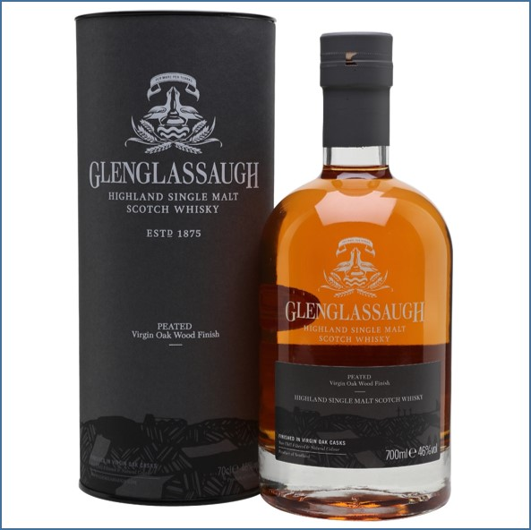 Glenglassaugh Peated Virgin Oak Finish Highland Single Malt Scotch Whisky 70cl 46%