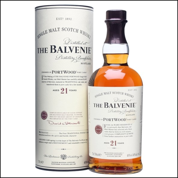 Balvenie 21 Year Old Port Wood Finish 70cl 47.6%