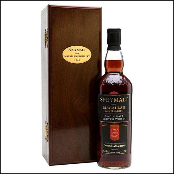 Macallan 68 Year Old-1945 Bot.2013 Speymalt Gordon & MacPhail Speyside Single Malt Scotch Whisky 70cl 45.1%