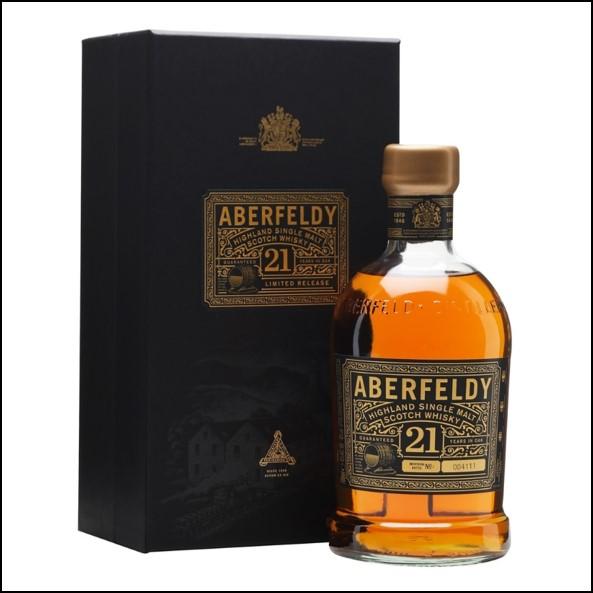 Aberfeldy 21 Year Old Single Malt Scotch Whisky 70cl 40.0% 收購艾伯迪21年