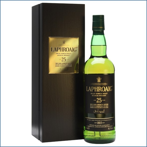 Laphroaig 25 Year Old Cask Strength Bot.2013 70cl 45.1%/Bot.2014 45.1%/ Bot.2015 46.8%