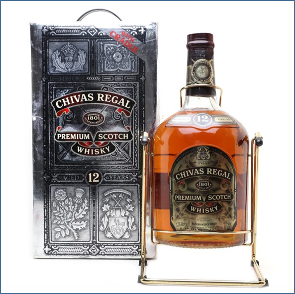 Chivas Regal 12 Year Old Large Bottle 378cl 43%