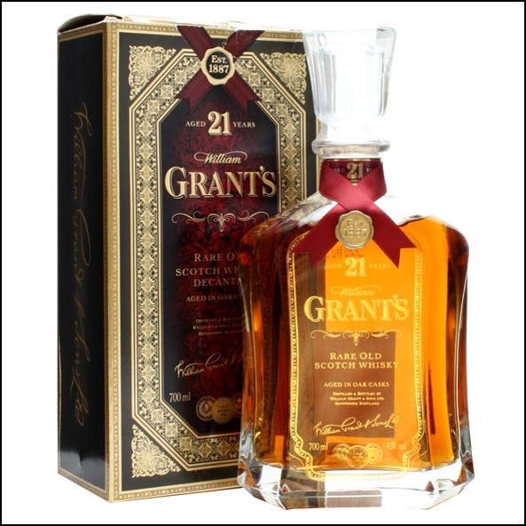 Grant's 21 years Dekanter Sctoch Whisky 70cl 43%