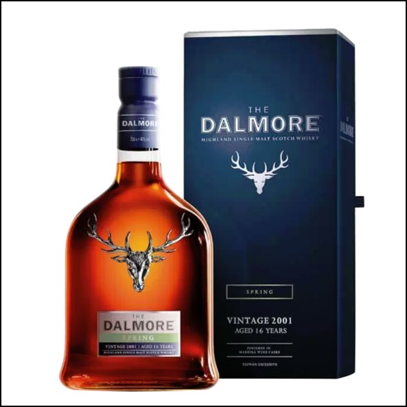 The Dalmore Seasons Collection Taiwan Exclusive – Spring Vintage 2001 (Aged 16 Years)大摩鎏金四季系列收購 2001-春