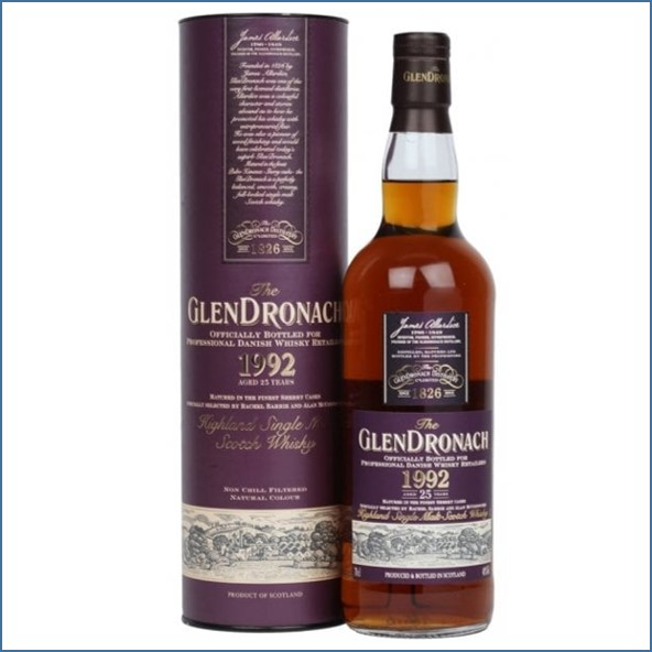 GlenDronach 1992 25 Year Old Sherry Cask 70cl 48%