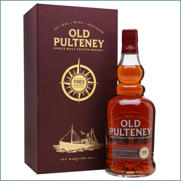 Old Pulteney 33 Year Old Sherry Cask 1983 70cl 46%