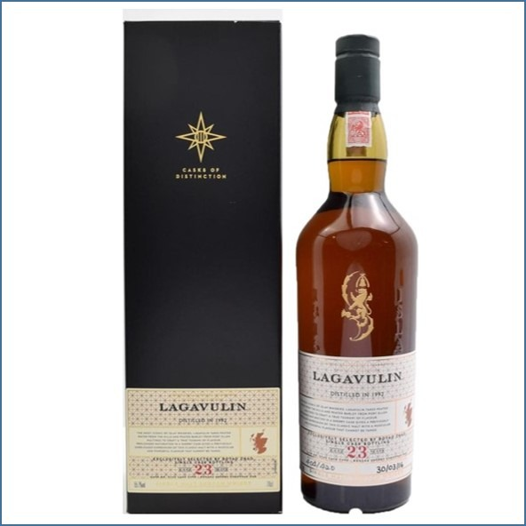 LAGAVULIN 23 YEAR OLD  DISTILLERS EDITION 1992 Bot.2016 70cl 55.7%收購拉加維林23年 1992