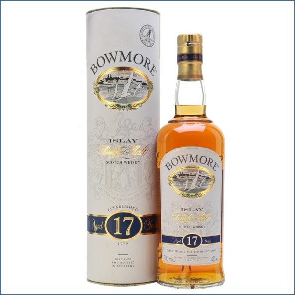 Bowmore 17 Year Old - Bot.1990s 70cl 43%