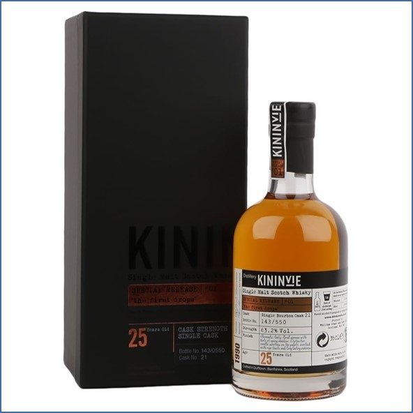 Kininvie 25 Year Old - 1990 - Special Release #1 35cl 63.2%