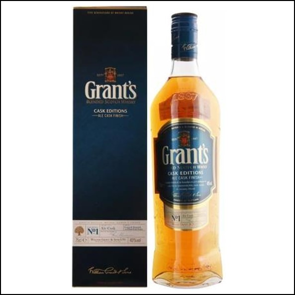Grant's Cask Editions Ale Cask Finish Blended Scotch Whisky 70cl 40%