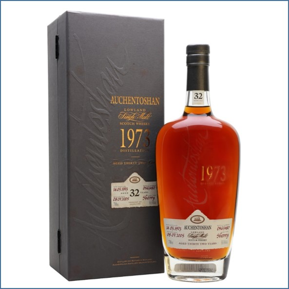 Auchentoshan 32 Year Old 1973 Sherry Cask 70cl 55.5%