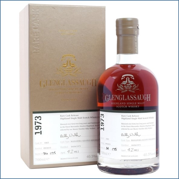 Glenglassaugh 1973 Cask #1865 42 year old Massandra Aleatico Finish Rare Cask Release Batch 2 70cl 40.5%
