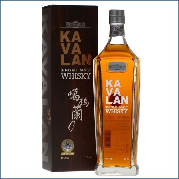 Kavalan Classic Single Malt Taiwanese Single Malt Whisky 70cl 40%