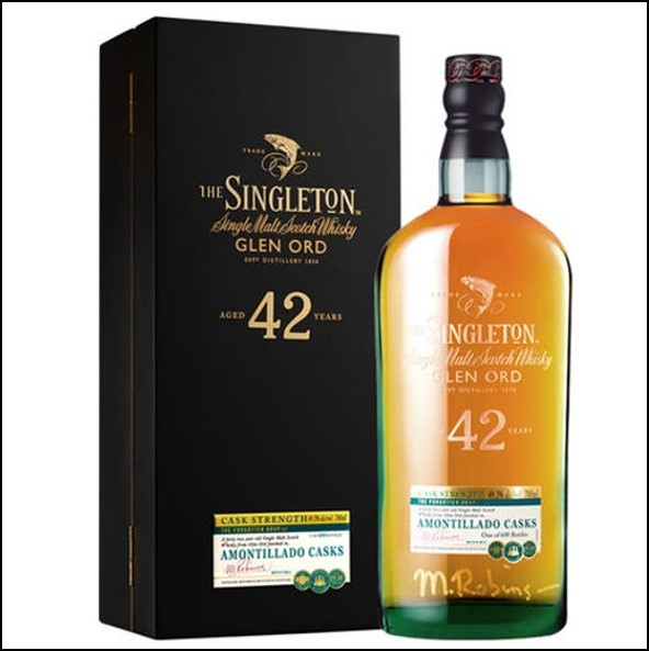 The Singleton of Glen Ord 42-year-old 2018 70cl 49.3% 蘇格登42年Glen Ord收購