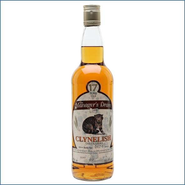 Clynelish 17 Year Old Manager's Dram 70cl 61.8%